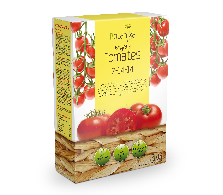 engrais tomates 7 14 14 2 kg botanika vert floralies. Black Bedroom Furniture Sets. Home Design Ideas