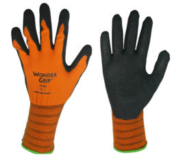 Gants Wonder Grip Orange Moyen