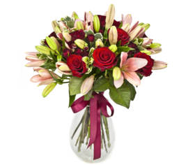 Bouquet Grenat