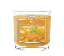 Bougie parfumée Colonial Candle 3,5 oz – Salsa à la mangue