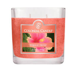 Bougie parfumée Colonial Candle 3,5 oz – Nectar tropical