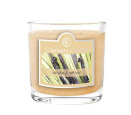 Bougie parfumée Colonial Candle 3,5 oz – Vanille et vétiver