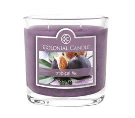 Bougie parfumée Colonial Candle 3,5 oz – Figue tropicale
