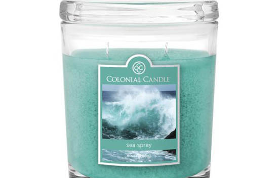 Bougie parfumée Colonial Candle 8 oz – Embruns de mer
