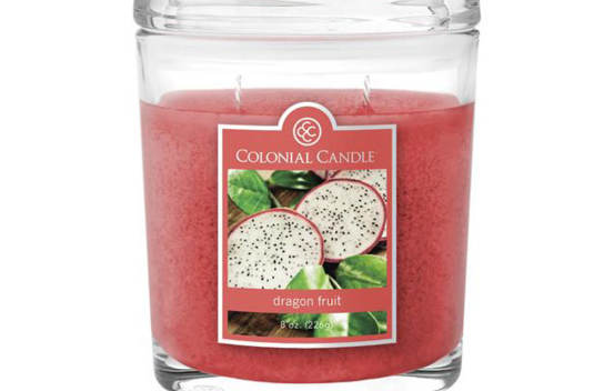 Bougie parfumée Colonial Candle 8 oz – Fruit du dragon