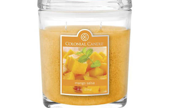 Bougie parfumée Colonial Candle 8 oz – Salsa à la mangue