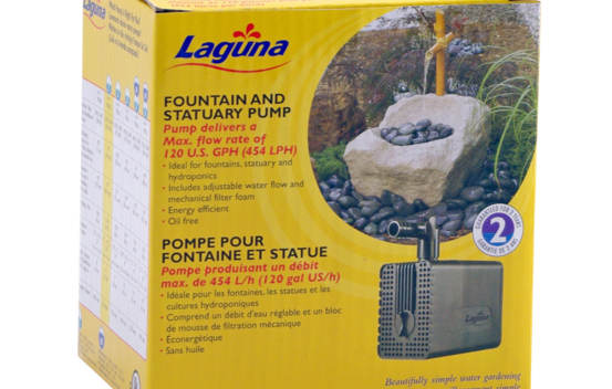 Pompe submersible Laguna 454 L/h (120 gal US/h)